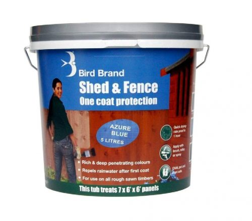 Bird brand shed & fence