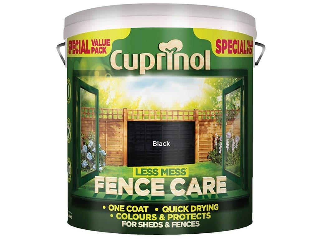Cuprinol less mess fence