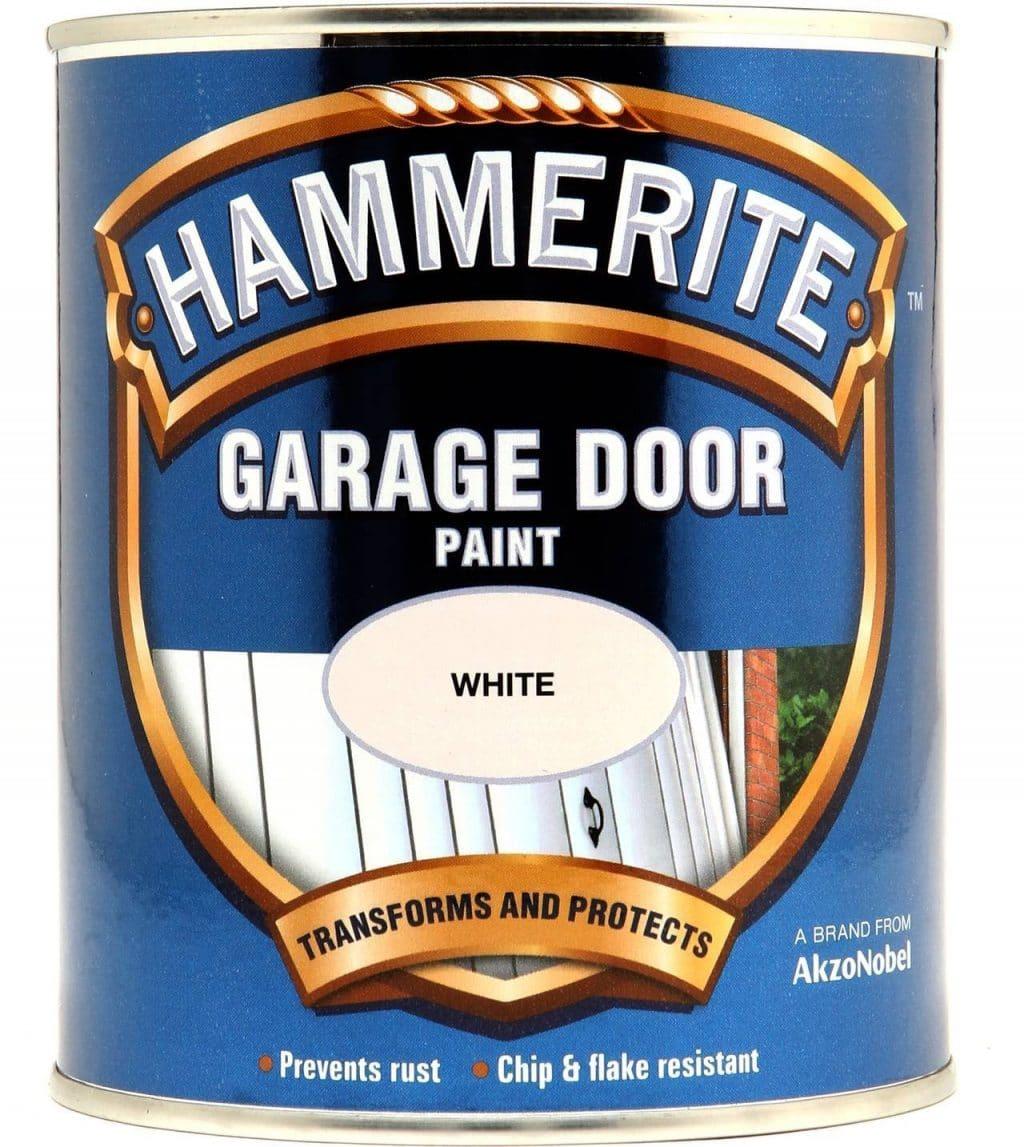 hammerite garage door paint