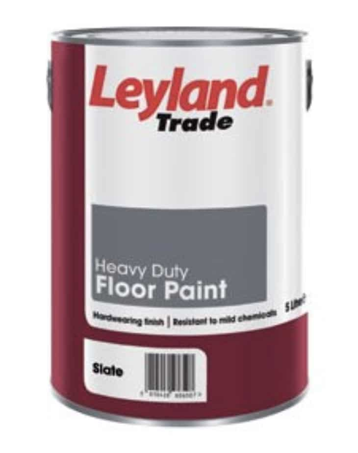 leyland heavy duty floor paint