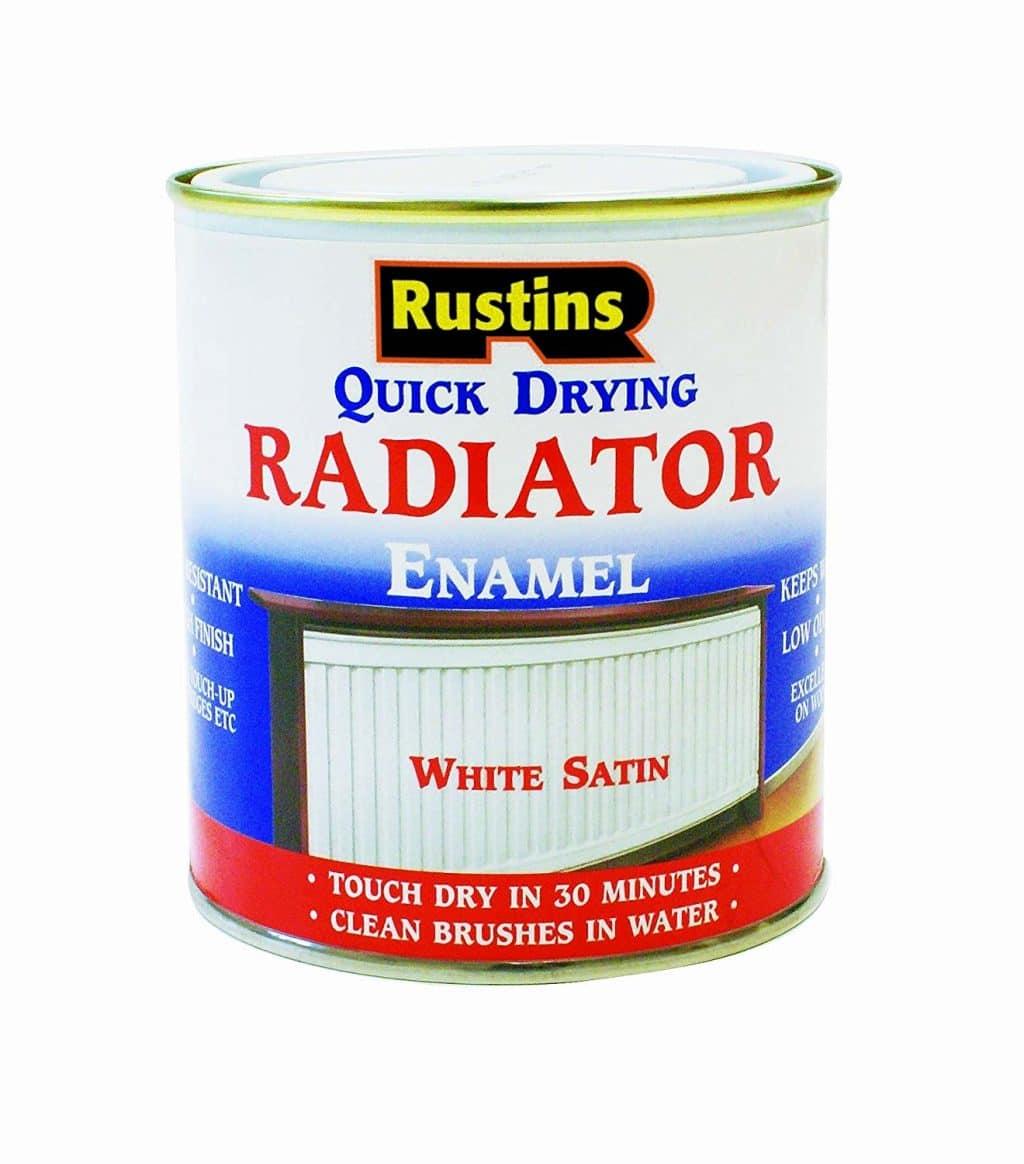 Rustins radiator enamel