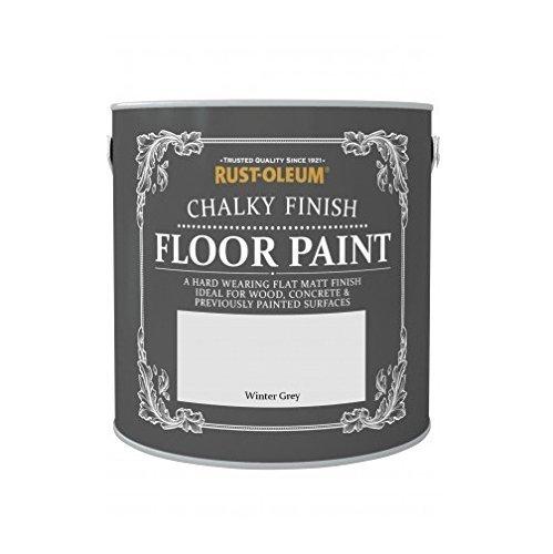 rust-oleum chalky floor paint