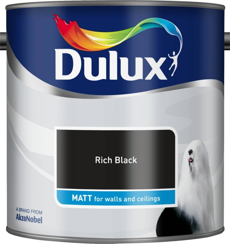 dulux rich black