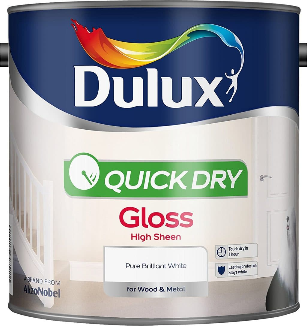Dulux quick dry gloss