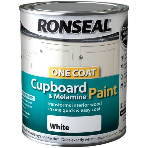 ronseal one coat melamine paint