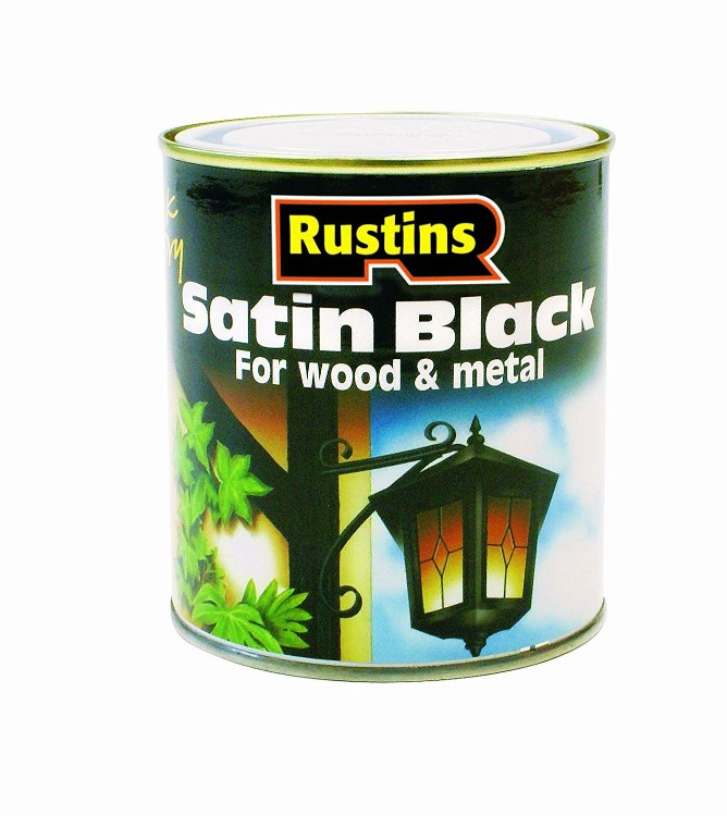 Rustins satin black for metal