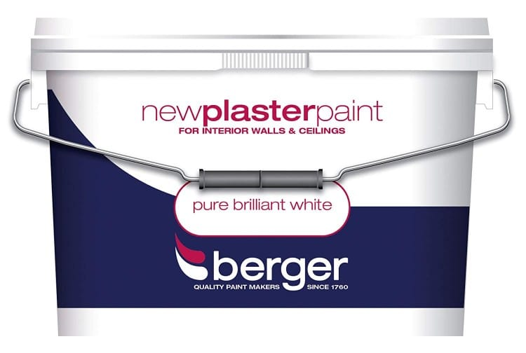 Berger new plaster paint