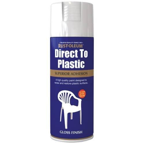 Rust-oleum direct to plastic