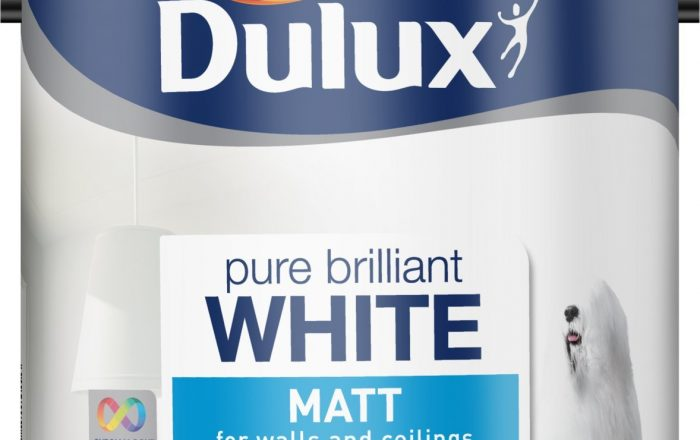 Dulux pure brilliant white matt