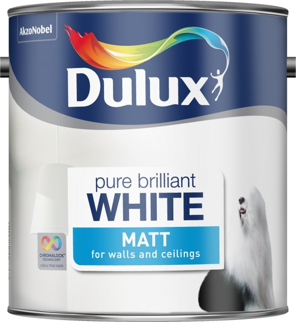 Dulux white matt