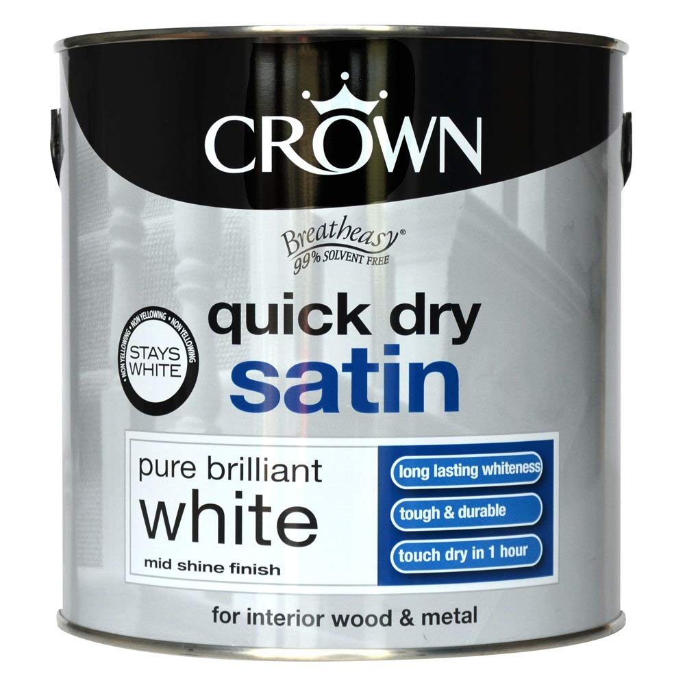 crown quick dry satin