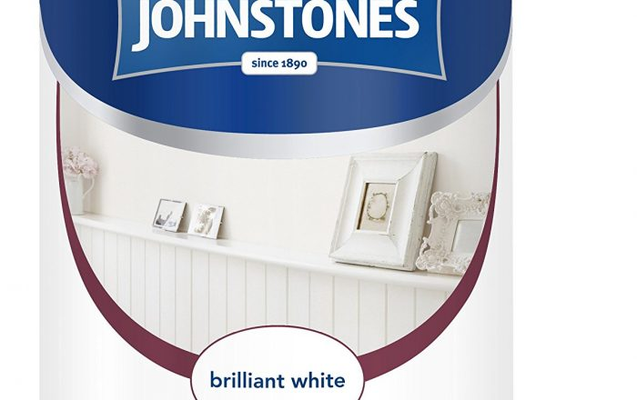 johnstone's brilliant white eggshell paint