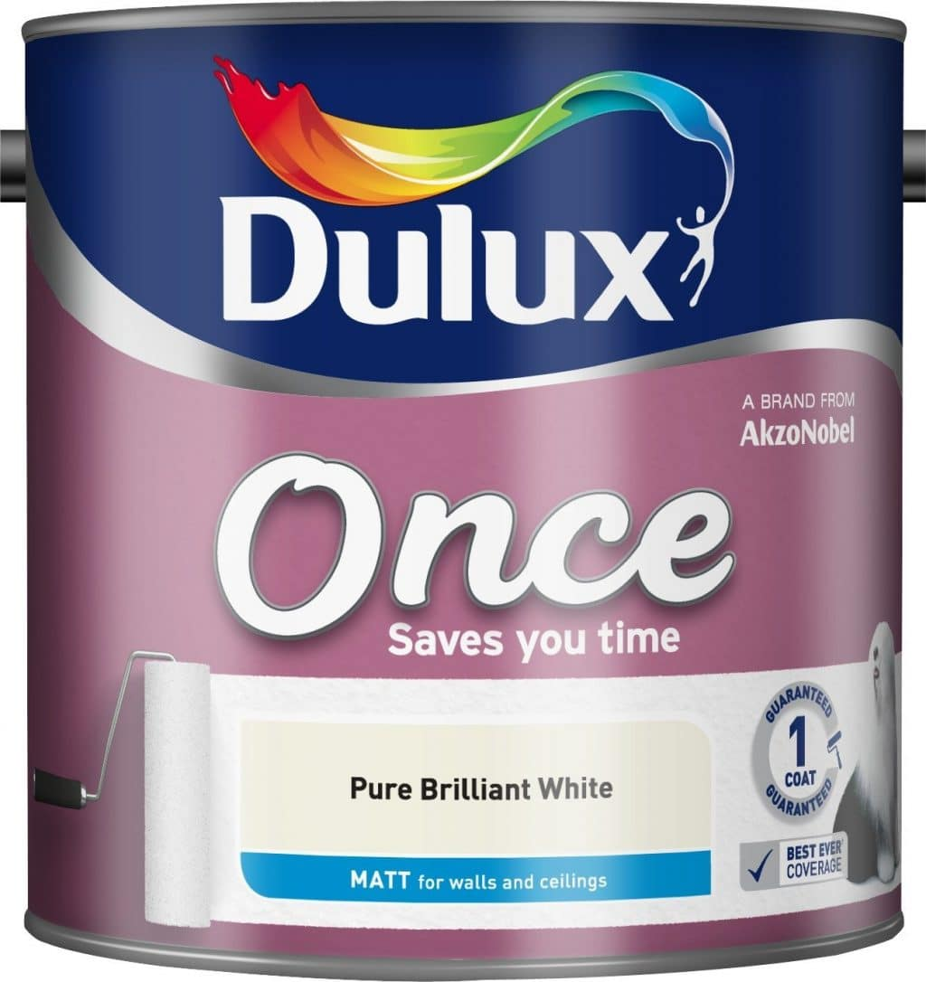 Dulux Once matt paint