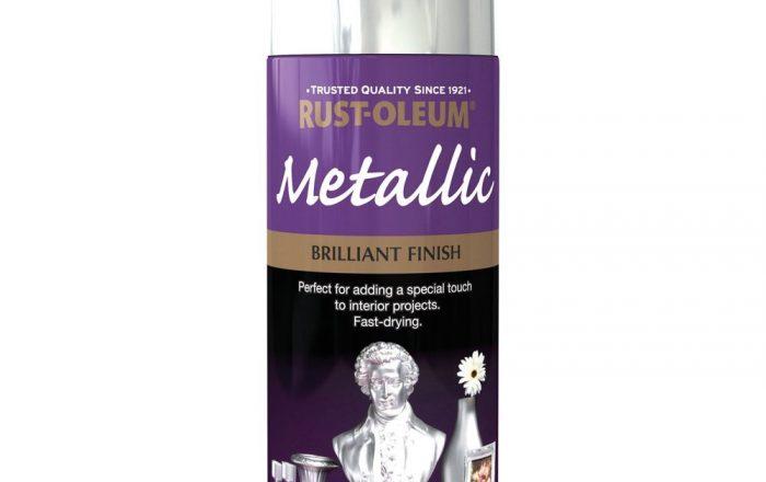 rustoleum metallic spray