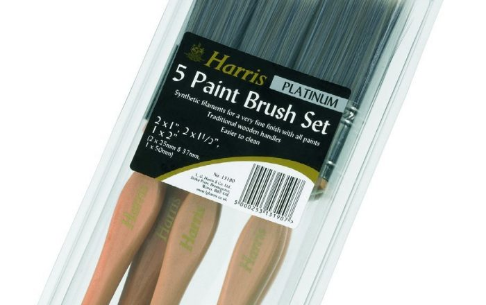 LG Harris 5 brush set