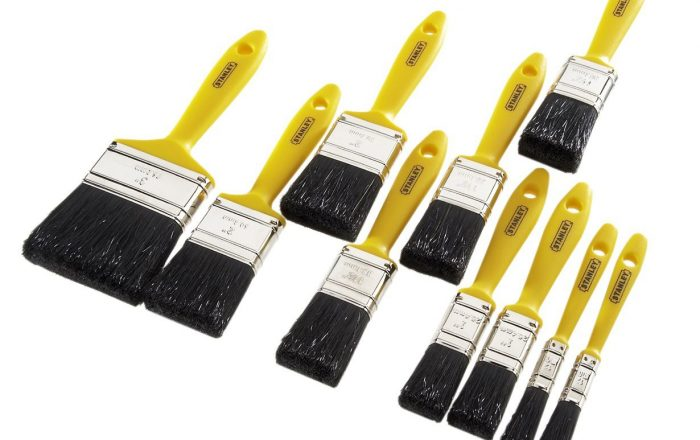 10 brush economy set