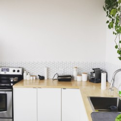 white washable painted wall