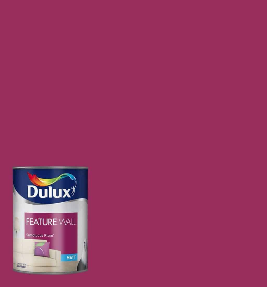 dulux for feature walls