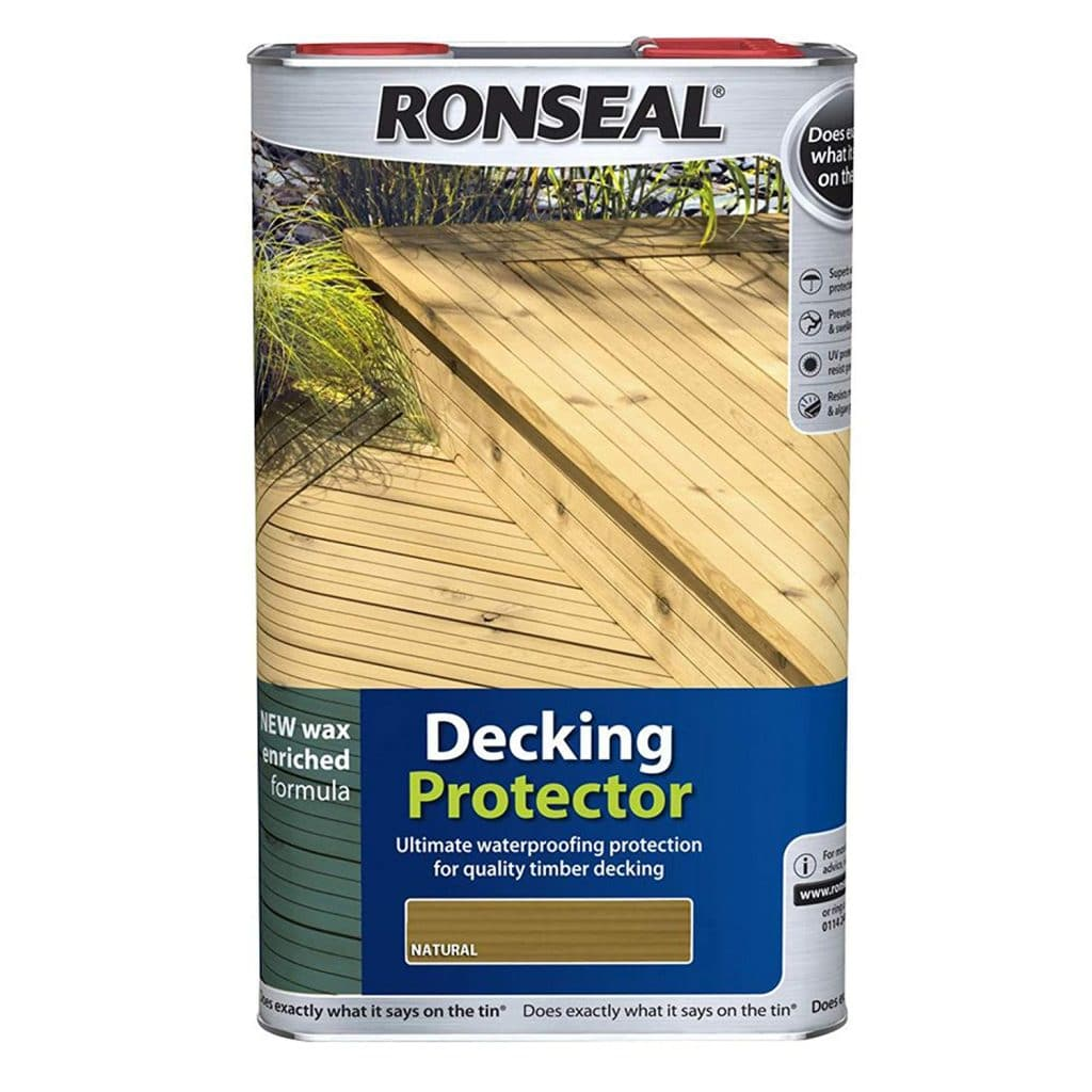 ronseal natural decking protector
