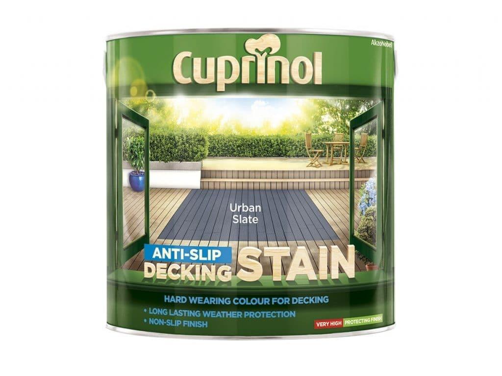 cuprinol anti slip deck stain